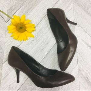 Gucci | Brown Leather Pumps Heels Size 39